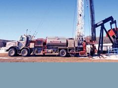 Boreanlæg til olie og gas